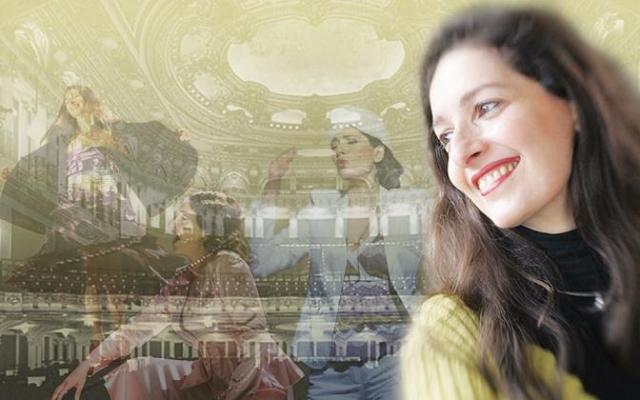 The soprano Marina Fideli