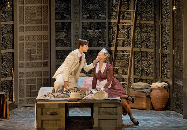 Isabel Leonard (Cherubino), Marlis Petersen (Susanna) Photo: Ken Howard/Met Opera