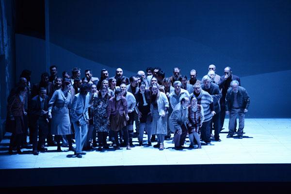 Oper Frankfurt's Chorus © Barbara Aumüller