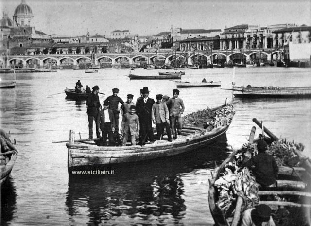 Catania, Archie della marina, porto.