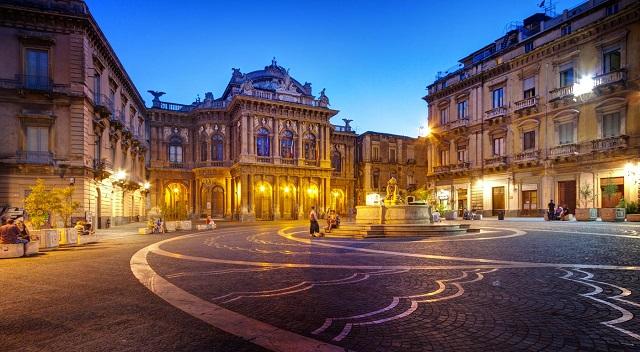 Bellini Theater in Catania