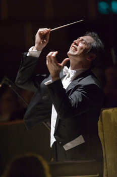 The conductor Nicola Luisotti