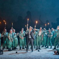 English National Opera Production. Photo by Alastair Muir