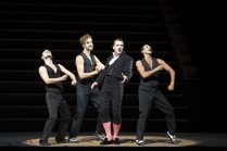 Daniel Schmutzhard and dancers. Photo copyright Monika Ritterhaus