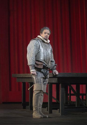 As Leicester in Maria Stuarda, Metropolitan Opera Photo © Ken Howard