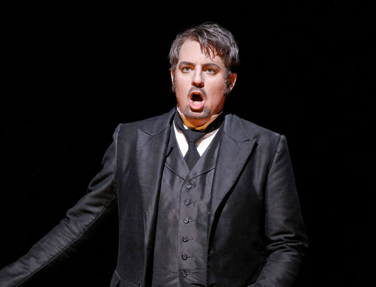 Title role, The Tales of Hoffmann, San Francisco Opera Photo © Cory Weaver