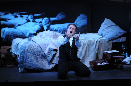 Title role, Werther, Lyric Opera of Chicago Photo © Dan Rest