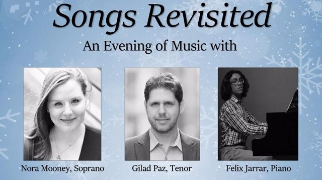 An evening of Music with Nora Mooney, Gilad Paz and Felix Jarrar