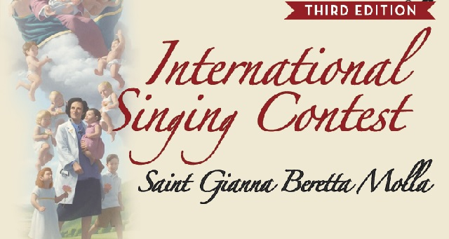International singing contest Saint Gianna Beretta Molla