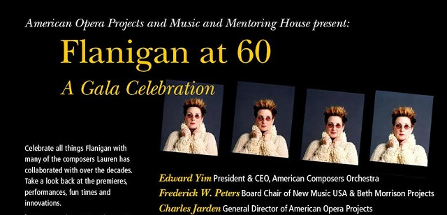 Flanigan at 60, A Gala Celebration!