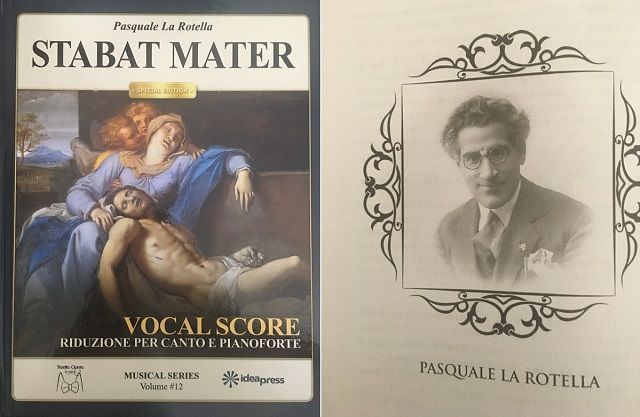 Published in New York the vocal score of Pasquale La Rotella's Stabat Mater