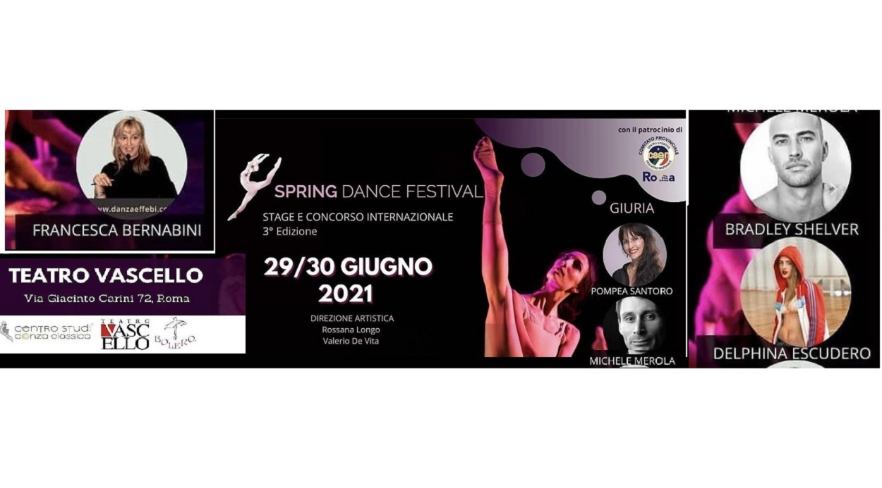 Spring Dance Festival Stage and International Competition in Rome, Italy